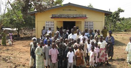 Ghana mission trip 2009