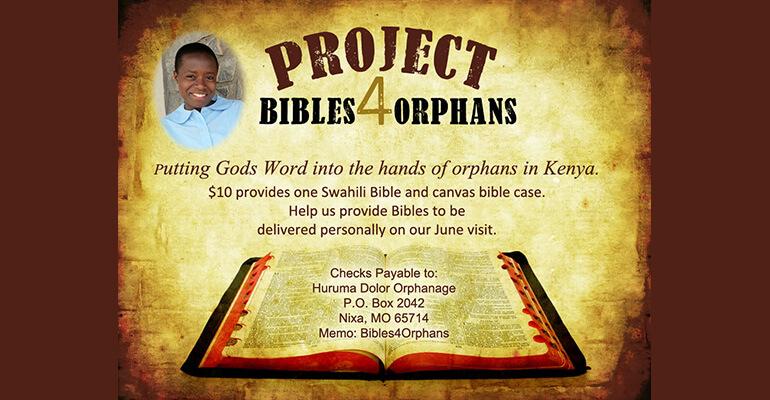 Bibles 4 Orphans