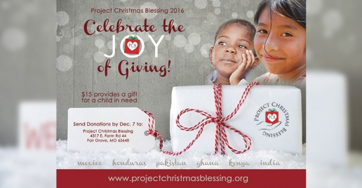 Project Christmas Blessing 2016