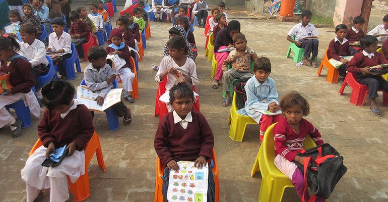 Pakistan classroom